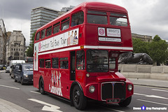 AEC Routemaster - VLT 191 - RM191 - Brigit's Afternoon Tea Bus Tour - London 2017 - Steven Gray - IMG_0891