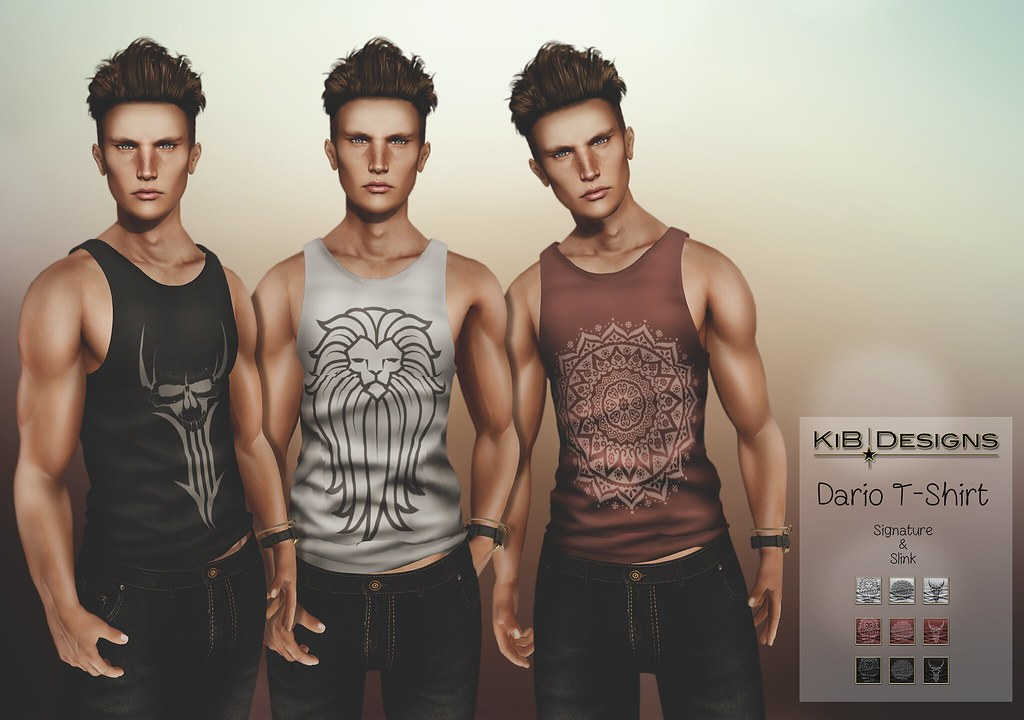 KiB Designs @The Men's Zone Event - SecondLifeHub.com