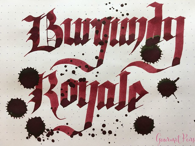Ink Shot Review Diamine Anniversary Burgundy Royale @AppelboomLaren 8