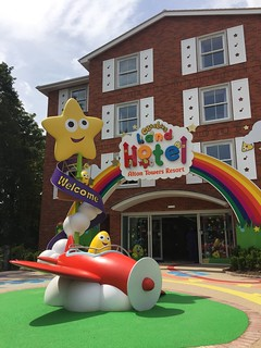 CBeebies Land Hotel - Entrance
