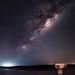 Milky Way Rising - North Dandalup Dam, Western Australia by inefekt69