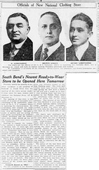 1922 - Lowenstines - South Bend News-Times - 8 March 1922