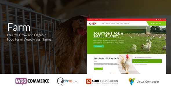 Farm WordPress Theme free download
