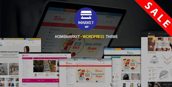 HomeMarket WordPress Theme free download