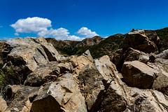 Lower San Gabriel Mountains, western end