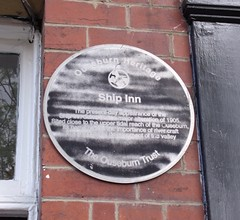 Photo of Black plaque number 43468
