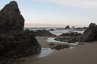 Rock Formations, Irish Beach