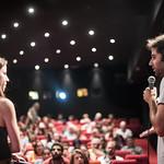 Sat, 06/10/2017 - 21:03 - Projection en avant-première parisienne de On récolte ce que l'on sème de Alaa Ashkar.  Cinéma le Studio, Aubervilliers, 10 Juin 2017 © Stéphane Burlot