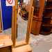Solid pine chevalier mirror cw drawer on stand E85