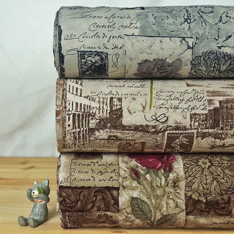 印象畫玫瑰  古典歐風薔薇花卉 手工藝DIy拼布布料 CF550591