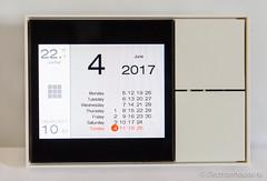Ekinex touch panel. Calendar page.