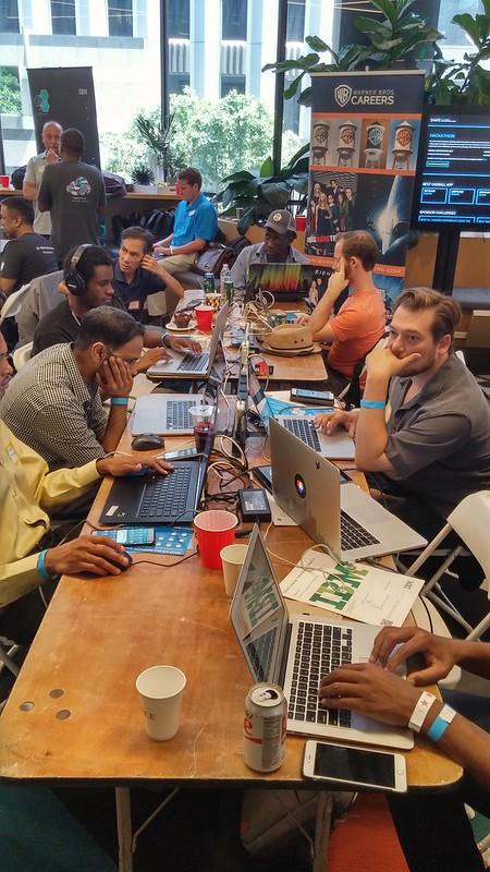 LA Hackathon sista dagen