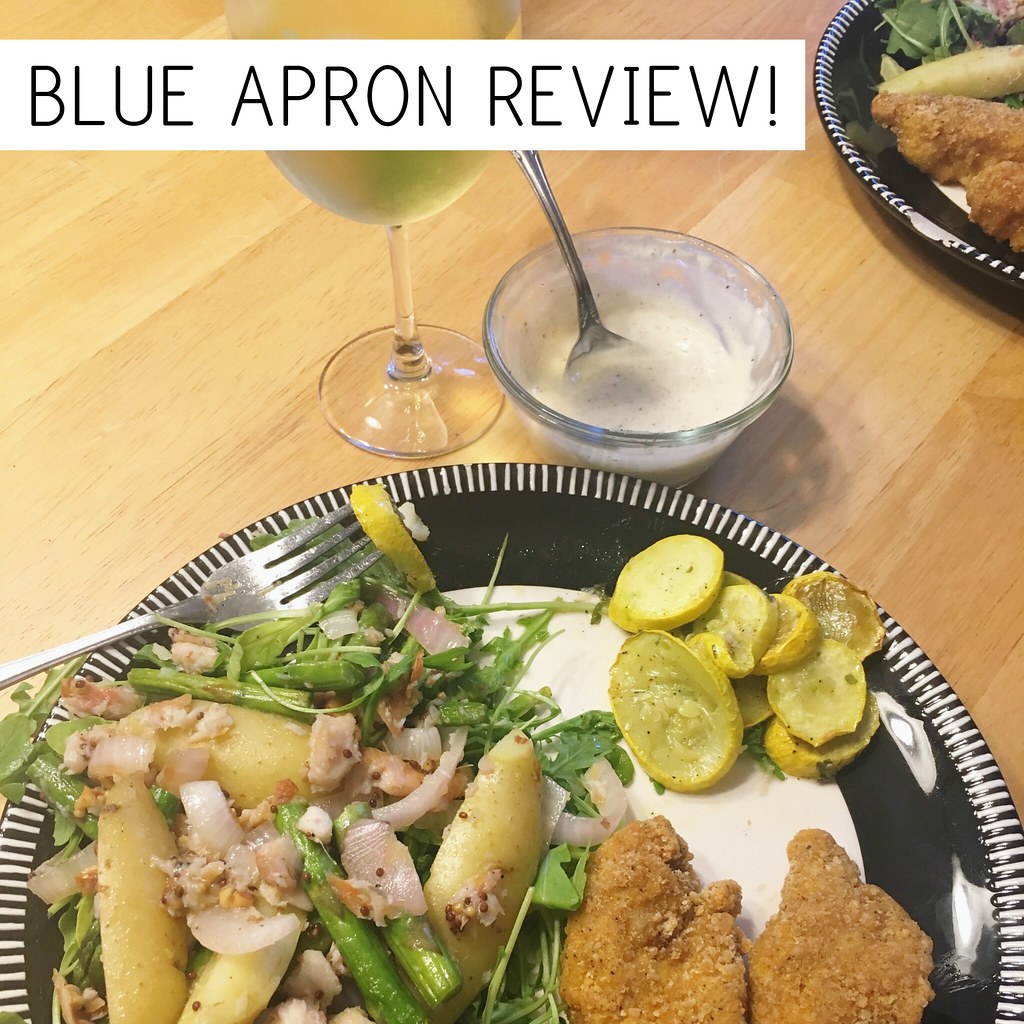 Honest Blue Apron Review from a Stay at Home Mom