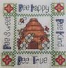 Bee Hive Cross-Stitch