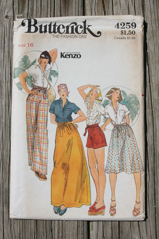 Vintage Kenzo for Butterick Top
