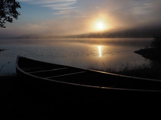 Northern Adirondack Canoe Route Trip