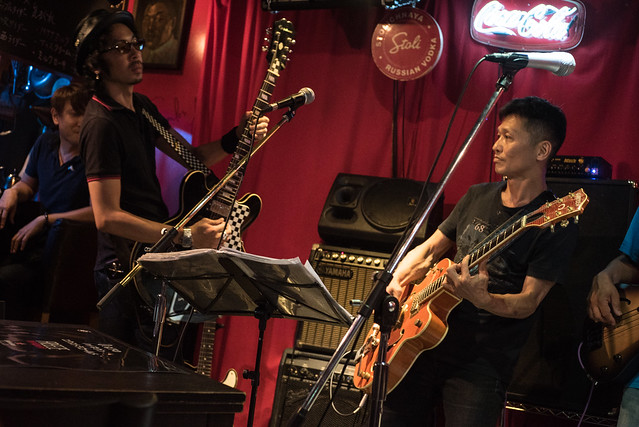 T.G.I.F. Blues Session at Terraplane, Tokyo, 14 Jul 2017 -00034