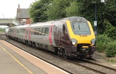 Cross Country class 220 diesel unit Culham