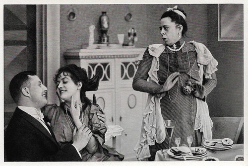 Bruno Kastner, Dorrit Weixler and Frida Richard in Dorittchens Vergnügungsreise (1916)