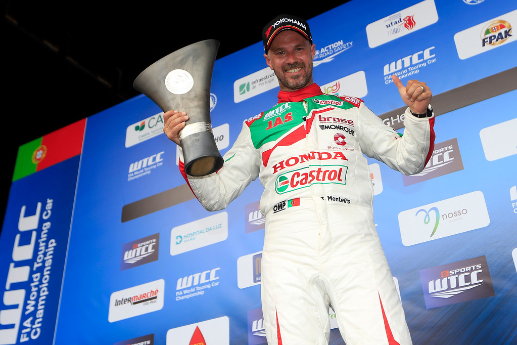 MONTEIRO Tiago (prt) Honda Civic team Castrol Honda WTC ambiance portrait during the 2017 FIA WTCC World Touring Car Championship race of Portugal, Vila Real from june 23 to 25 - Photo Paulo Maria / DPPI
