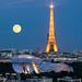 Fondation Louis Vuitton & Tour Eiffel