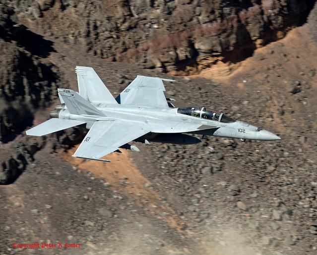 Boeing F A-18F 166875, Nikon D800E, AF-S VR Nikkor 400mm f/2.8G ED