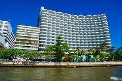 Shangri-La Hotel by the Chao Phraya river in Bangkok, Thailand