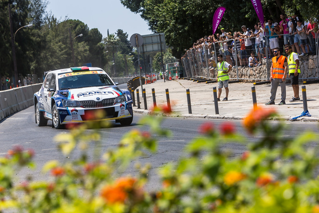 01 MAGALHAES Bruno (prt) and MAGALHAES Hugo (prt) BRUNO MAGALHAES SKODA FABIA R5 action during the 2017 European Rally Championship ERC Cyprus Rally,  from june 16 to 18  at Nicosie, Cyprus - Photo Thomas Fenetre / DPPI