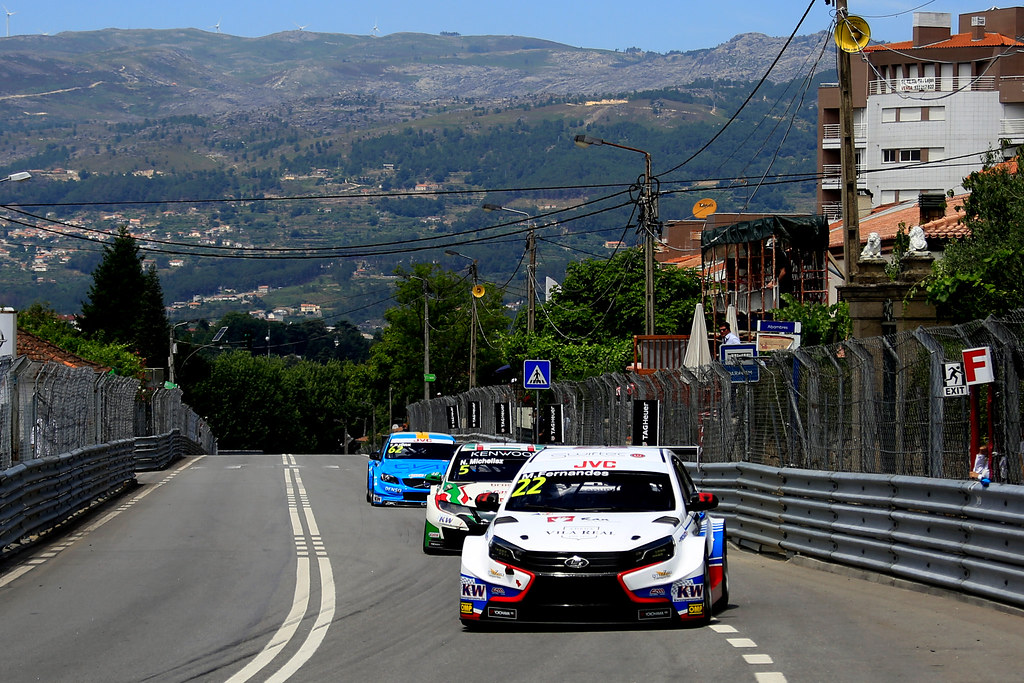 22 FERNANDES Manuel (PRT) Lada Vesta team RC Motorsport action during the 2017 FIA WTCC World Touring Car Championship race of Portugal, Vila Real from june 23 to 25 - Photo Paulo Maria / DPPI