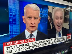 Anderson Cooper correctly says Jeffrey Lord will defend almost anything his friend #Trump says #AndersonCooper #cnn #JeffreyLord #cablenews #tv #news #media