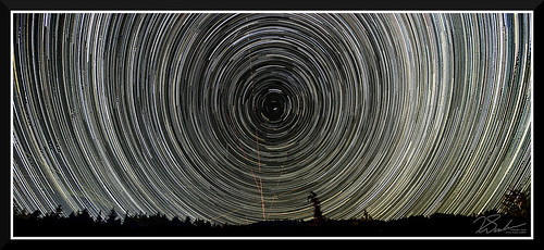 3 hours star trails north lunar project nikon d7000 with tokina 1116mm 16mm