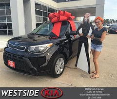 Happy Anniversary to Cambridge on your #Kia #Soul from Bobby Russell at Westside Kia!