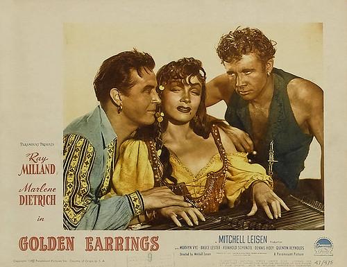 Golden Earrings - lobbycard 1