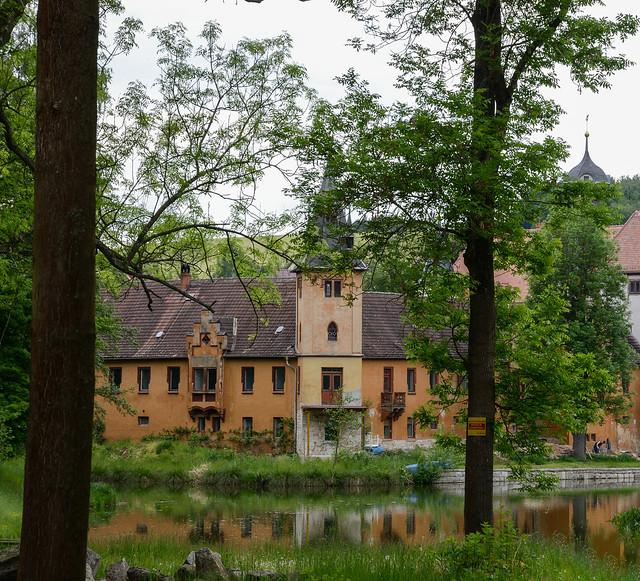 """Schloss """"Zur Fröhlichen Wiederkunft"""" Wolfersdorf  (1)"""