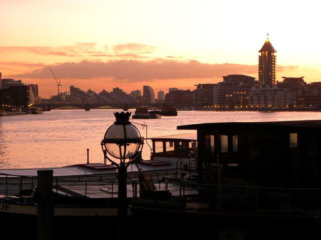 The lights of Battersea, Nikon COOLPIX P90