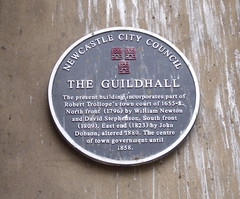 Photo of Guildhall, Newcastle upon Tyne, William Newton, David Stephenson, Robert Trollope, and 1 other