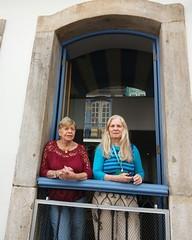 Alice Gonzaga e a cineasta Patricia Civelli...  #blogauroradecinemaregistra  #desarquivandoalicegonzaga  #alicegonzaga #cineop #festivaisdecinema  #desarquiva