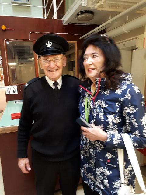 Grace and Jackie Stewart at Peterhead Prison Museum