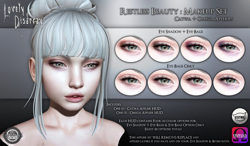Lovely Disarray - Restless Beauty @ Somber - SecondLifeHub.com