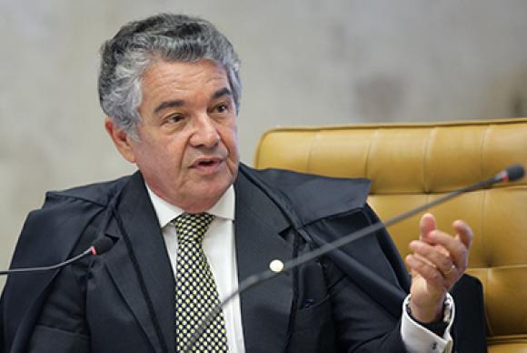 Minsitro Marco Aurélio restaurou mandato de Aécio Neves (PSDB) no Senado - Créditos: Nelson Jr./SCO/STF