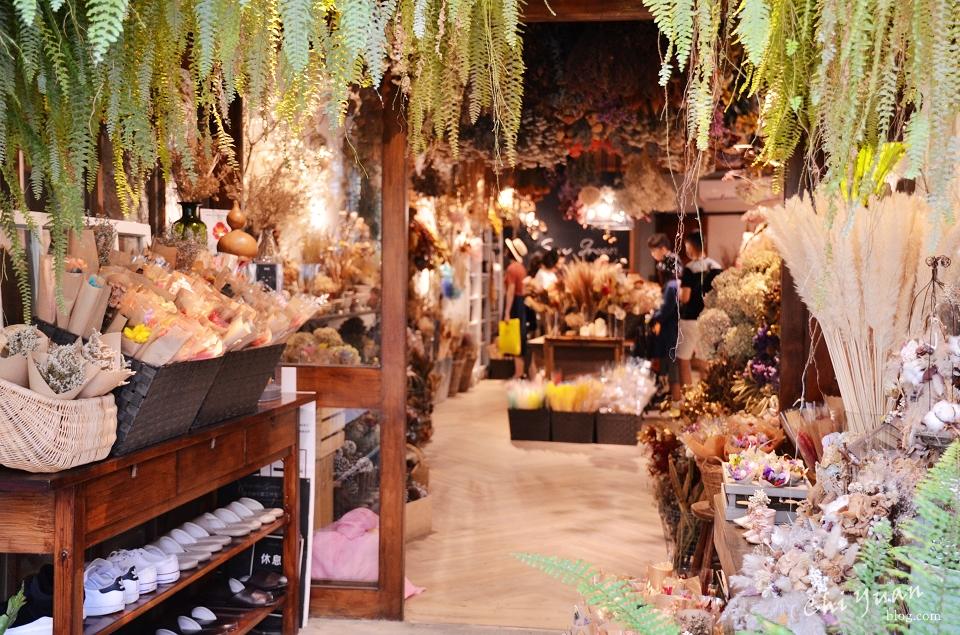 [台南]中西區看見。綠花藝設計工作室,絕美乾燥花森林系小店