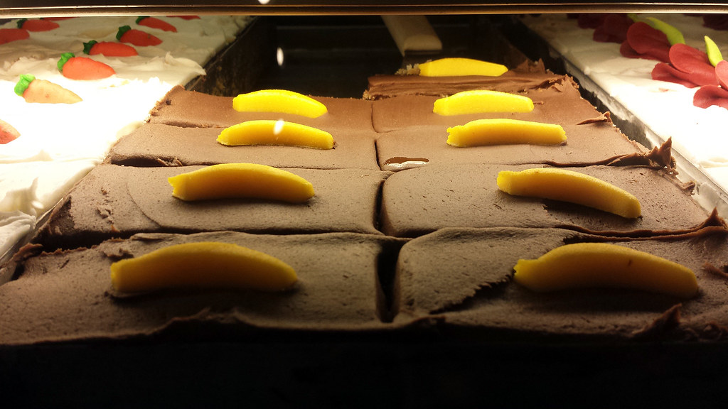 """Banana"" brownies"