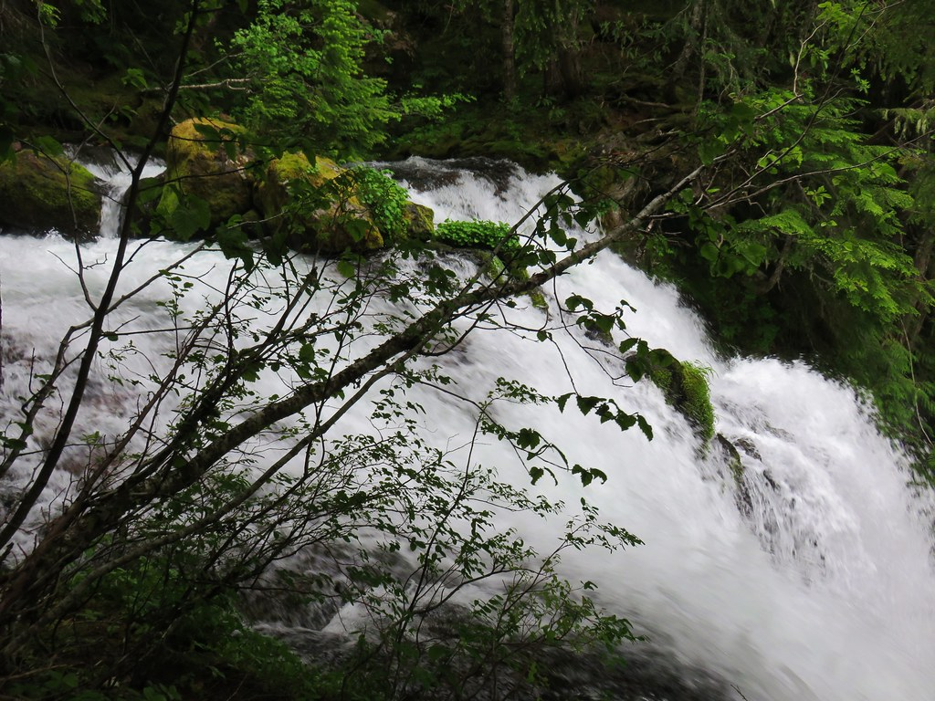 Top of Lower Linton Falls
