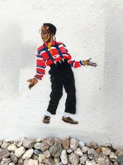 Steve Urkel - Leipzig Reudnitz - Stencil Streetart