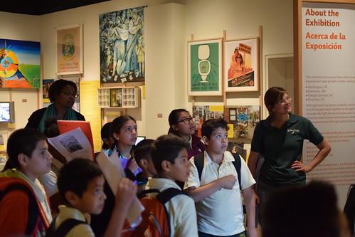 Bruce Monroe at Gateways/Portales Exhibit