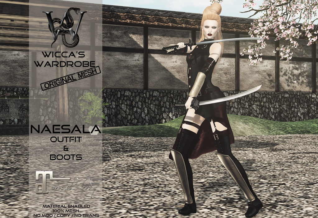 Wicca's Wardrobe @ We ♥ RP July 2017 - SecondLifeHub.com