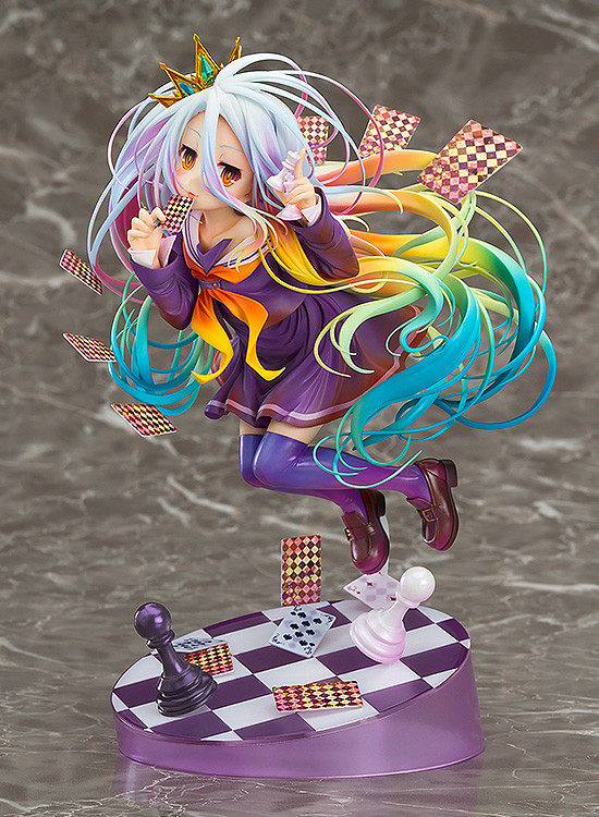 Omega Good Job!GSC《NO GAME NO LIFE 遊戲人生》白 1/8比例模型