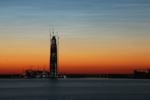 elements towers russia sunset canon water st petersburg