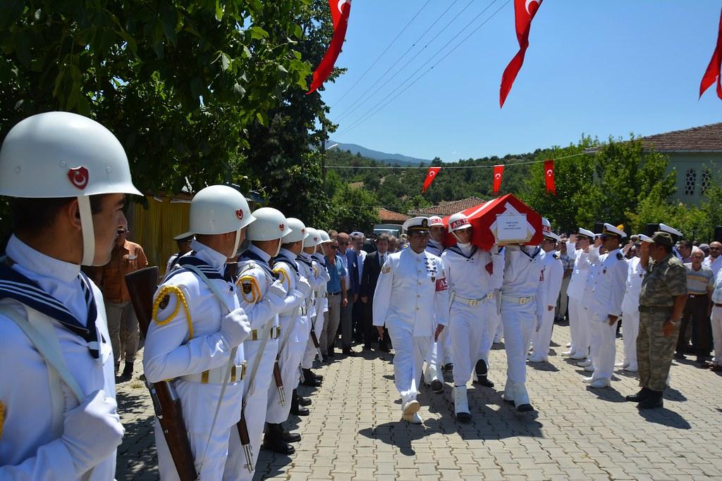 Gazi Kemal Aydın, Son Yolculuğuna Uğurlandı (3)