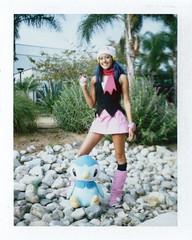 Hayden as Dawn at Titan Con
